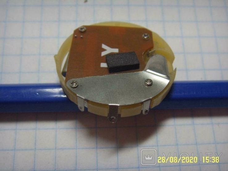 Механизм для электронных часов, Не рабочий на запчасти. №2, фото №3