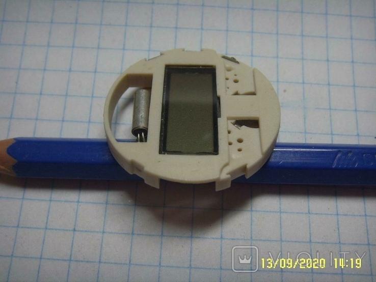 Механизм для электронных часов, Не рабочий на запчасти. №3, фото №5