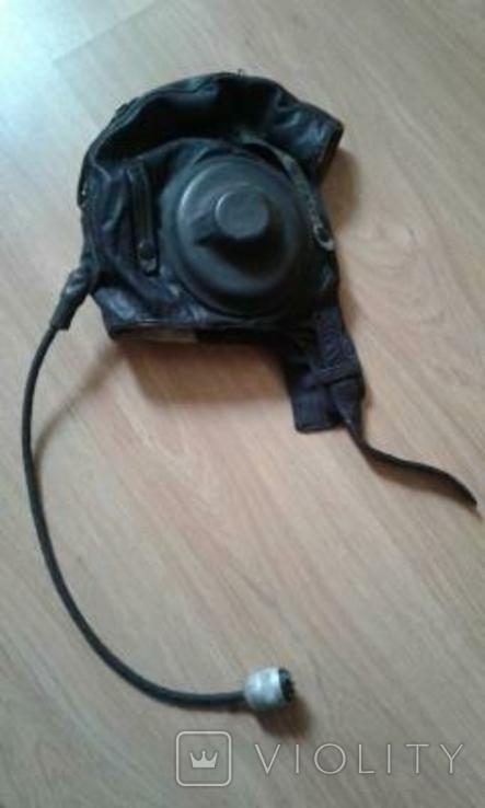 Шлем лётчика ВВС Советского Союза, фото №2