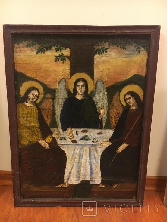 """Ікона """"Старозавітня Трійця"""", фото №2"""