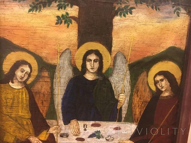 """Ікона """"Старозавітня Трійця"""", фото №5"""