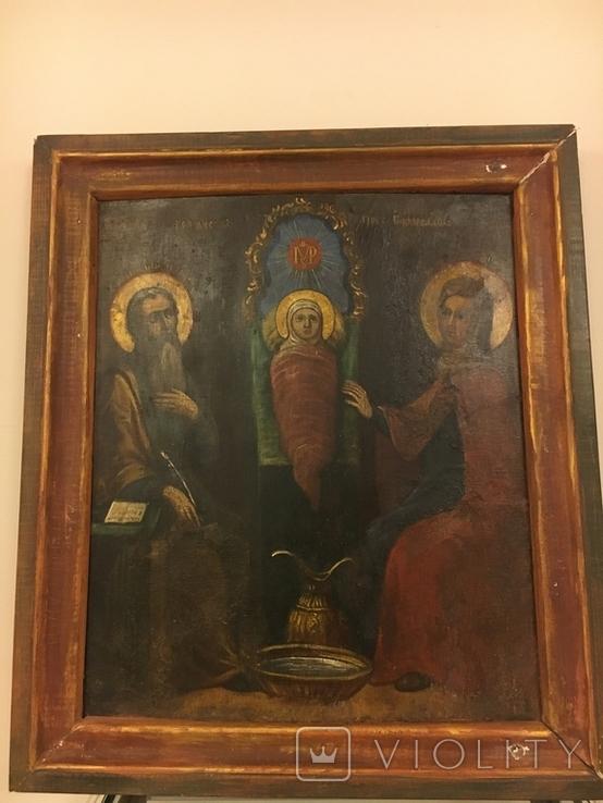 """Ікона """"Різдво Пресвятої Богородиці"""", фото №2"""
