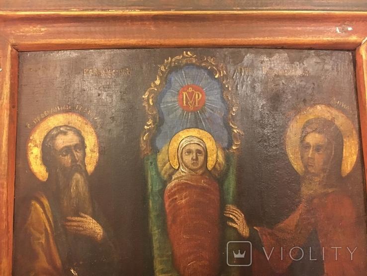 """Ікона """"Різдво Пресвятої Богородиці"""", фото №6"""