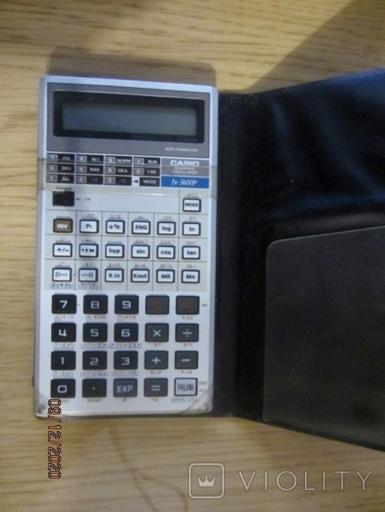 Инженерный калькулятор Casio FX-3600P, фото №5