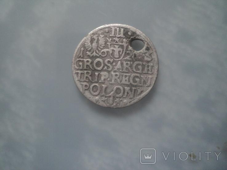 Трояк 1623 г, фото №5