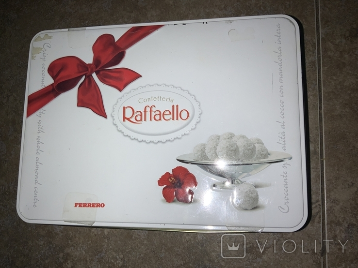 Жестяная коробка Raffaello, фото №2