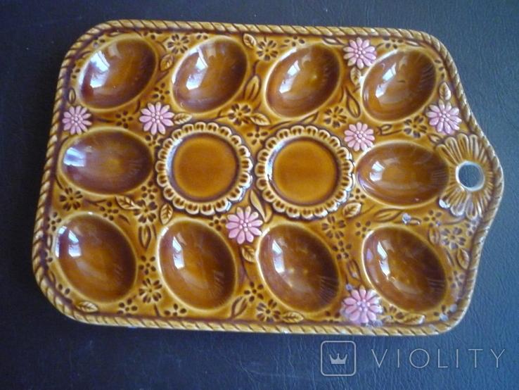 Керамичная подставка на яйца венгрия, фото №3