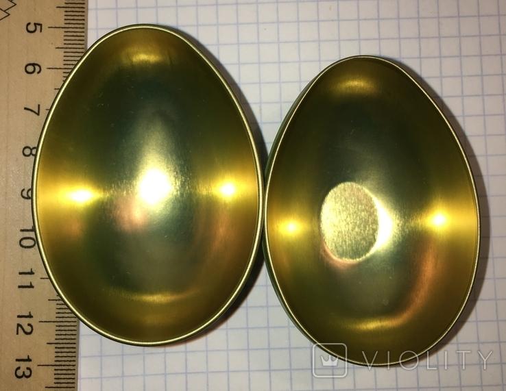Шкатулка жестяная, пасхальное яйцо, 2 шт., фото №8