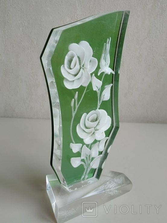 Сувенир Розы. Оргстекло., фото №4