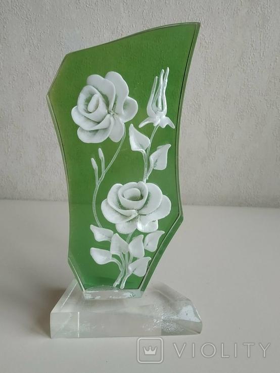 Сувенир Розы. Оргстекло., фото №13