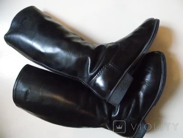 Офицерские хромовые сапоги. Германская Дем. республика., фото №4