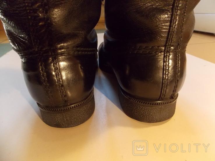 Офицерские хромовые сапоги. Германская Дем. республика., фото №5