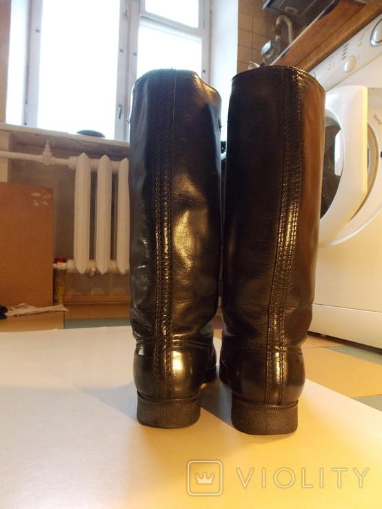 Офицерские хромовые сапоги. Германская Дем. республика., фото №6