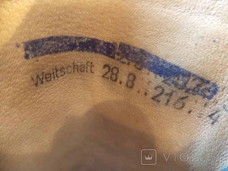 Офицерские хромовые сапоги. Германская Дем. республика., фото №11