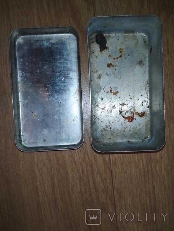 Коробочка латунная никелированая, фото №6