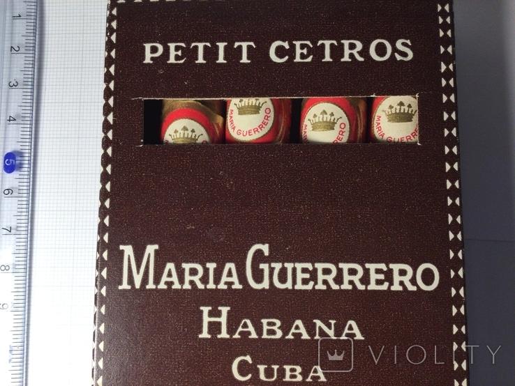 Сигары Куба Maria Guerrero 1965 год коллекционные 4 штуки, фото №5