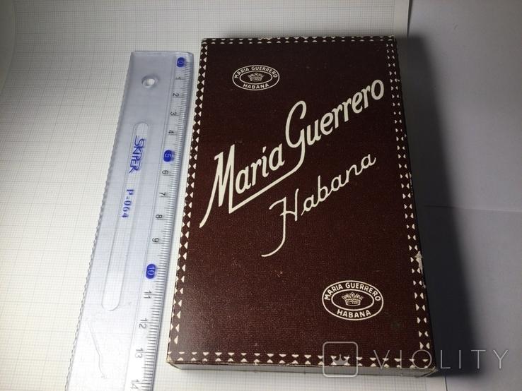 Сигары Куба Maria Guerrero 1965 год коллекционные 4 штуки, фото №8