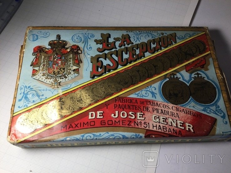 Табак Куба 1965 года Hoyo de Monterrey, брикет, коллекционный, фото №3