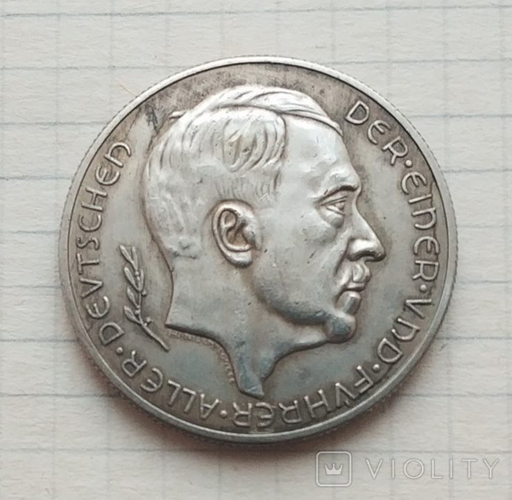 Германия. Третий Рейх. Аннексия Австрии 1938 г. №1 Копия, фото №2