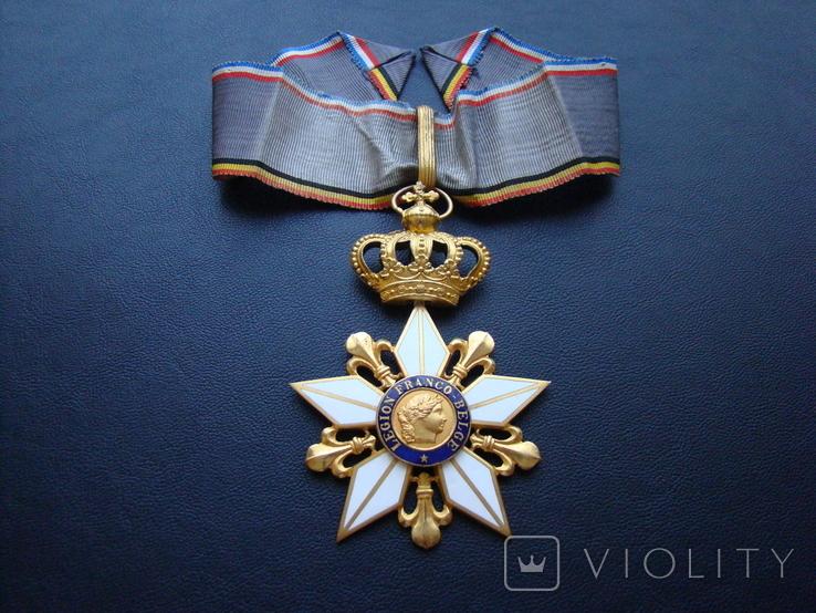 Крест командора Франко-Бельгийского легиона