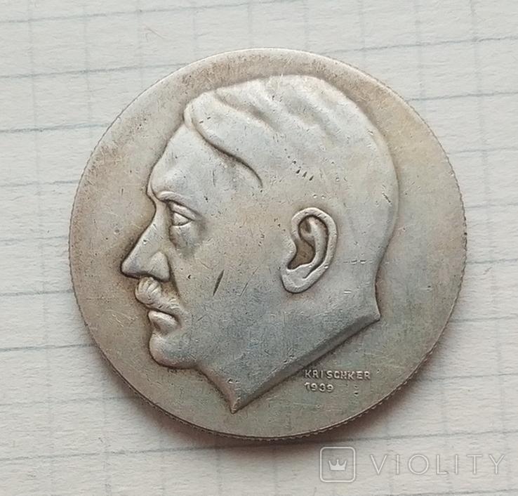 Германия. Третий Рейх. 50 лет Адольфу Гитлеру. (копия), фото №2