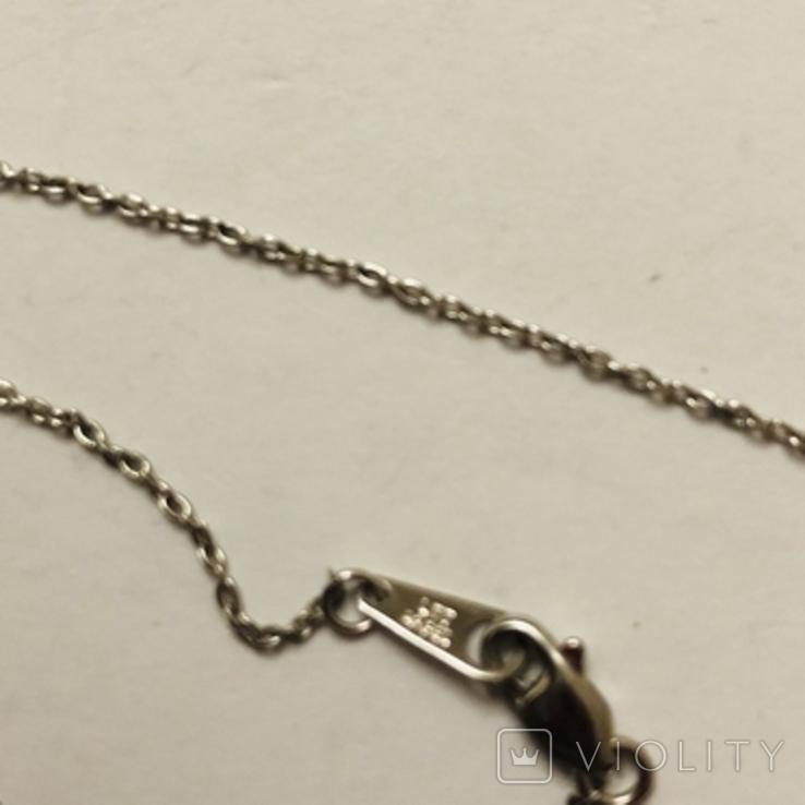 Подвеска Инициал буква от известного бренда Lee Angel серебро 925, фото №6