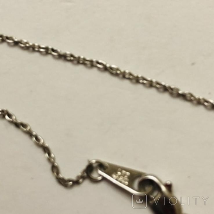 Подвеска Инициал буква от известного бренда Lee Angel серебро 925, фото №8