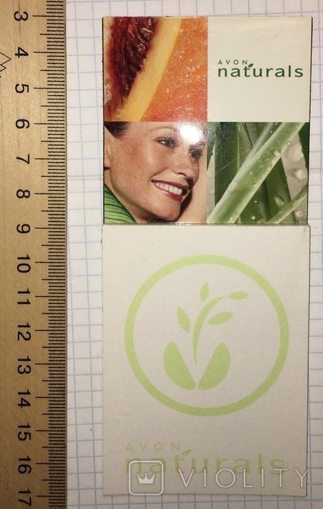 Avon магнит на холодильник с мини блокнотом (серия Naturals)  Ейвон 1990-е, фото №3