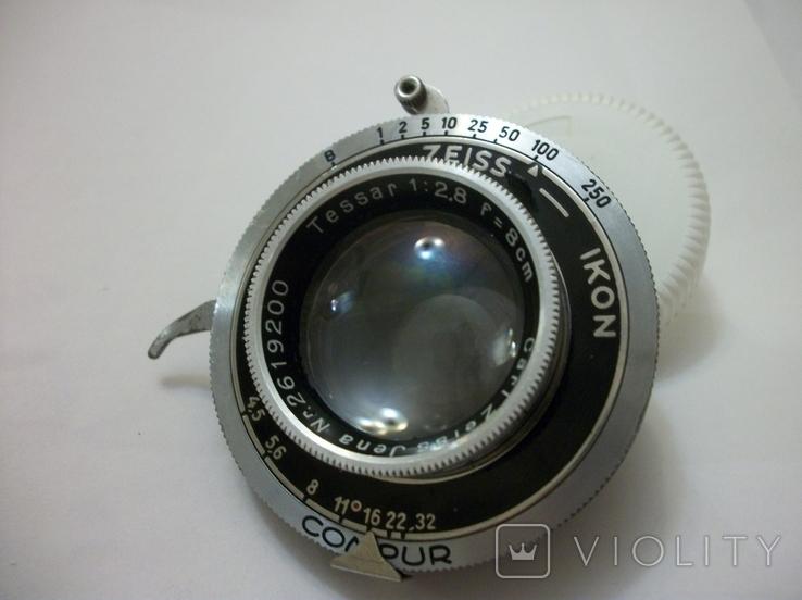 Объектив tessar 12,8 , f8cm ,  zeiss ikon, фото №2