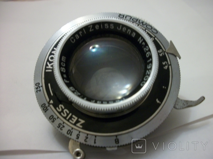 Объектив tessar 12,8 , f8cm ,  zeiss ikon, фото №3