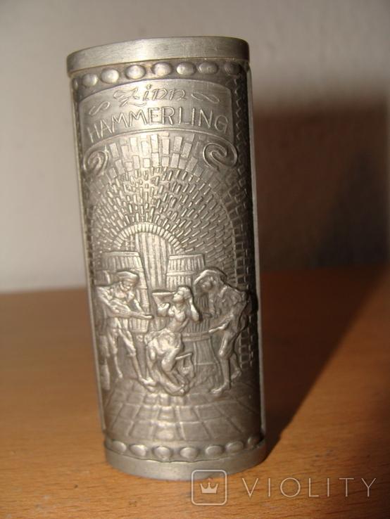"""Коллекционный чехол для зажигалки """"Таверна"""" Клеймо (602), фото №2"""