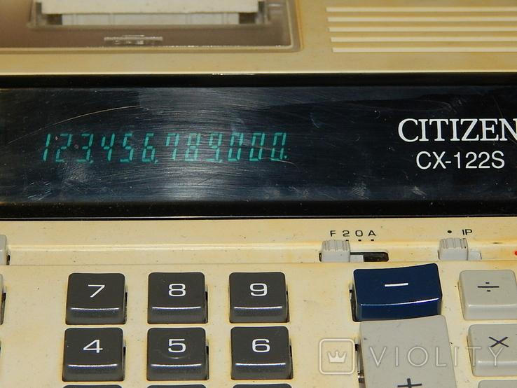 Электрический электронный калькулятор CITIZEN, фото №4