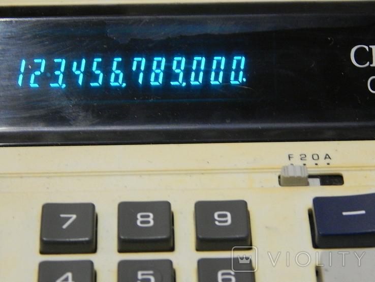 Электрический электронный калькулятор CITIZEN, фото №5