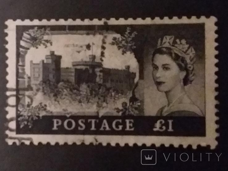 Почтовая марка Великобритании, фото №2