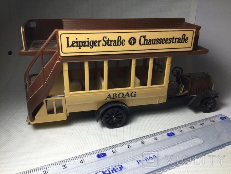 Автобус Daimler 1911, Германия 1970 год, фото №9