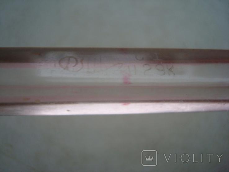 Ручка с чернильным пером СССР орг стекло клеймо, фото №6