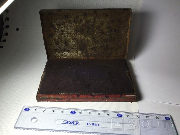 Подушечка для чернильных печатей Италия 1930 винтаж, фото №4