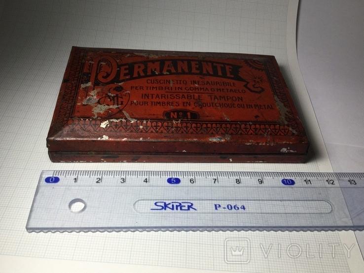 Подушечка для чернильных печатей Италия 1930 винтаж, фото №5