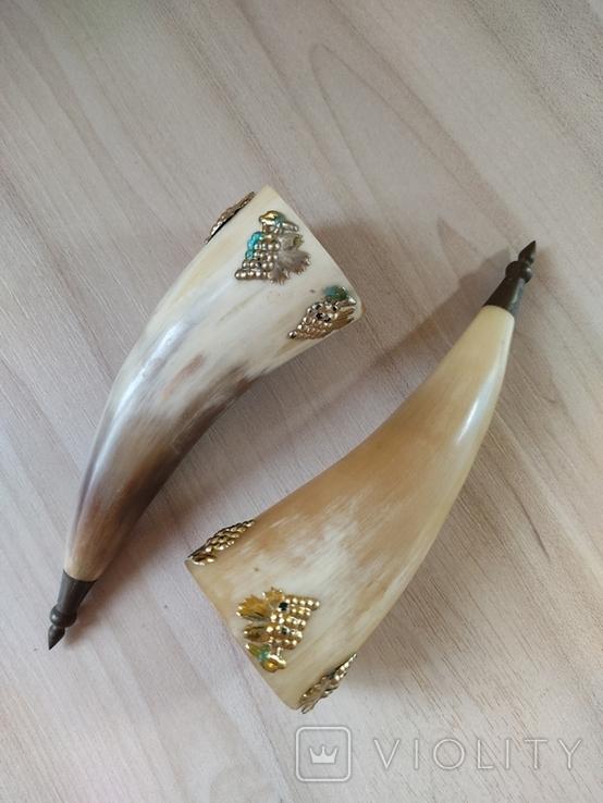 Рога  сувенирный, фото №3