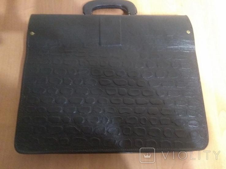 Портфель кожаный, фото №3