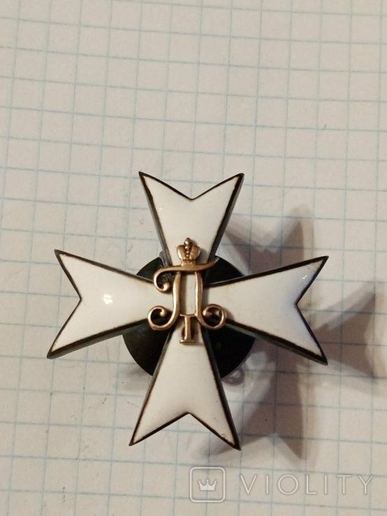 Павловское военное училище. серебро.(копия), фото №3