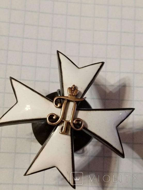 Павловское военное училище. серебро.(копия), фото №9