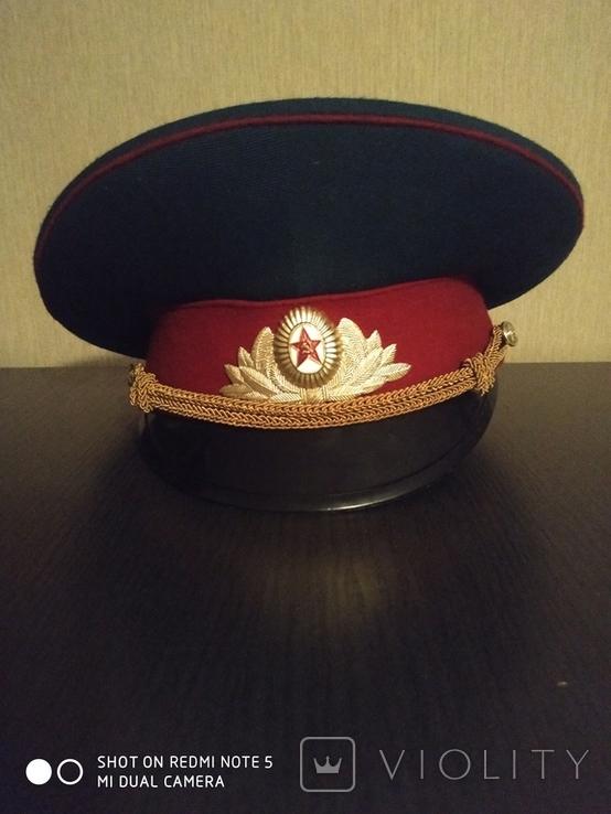 Парадная военная фуражка. СССР., фото №3