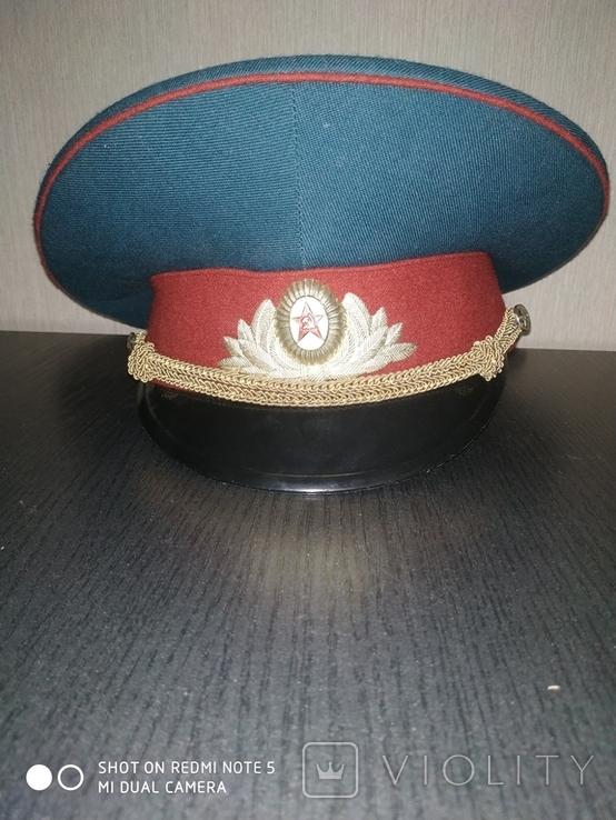 Парадная военная фуражка. СССР., фото №2