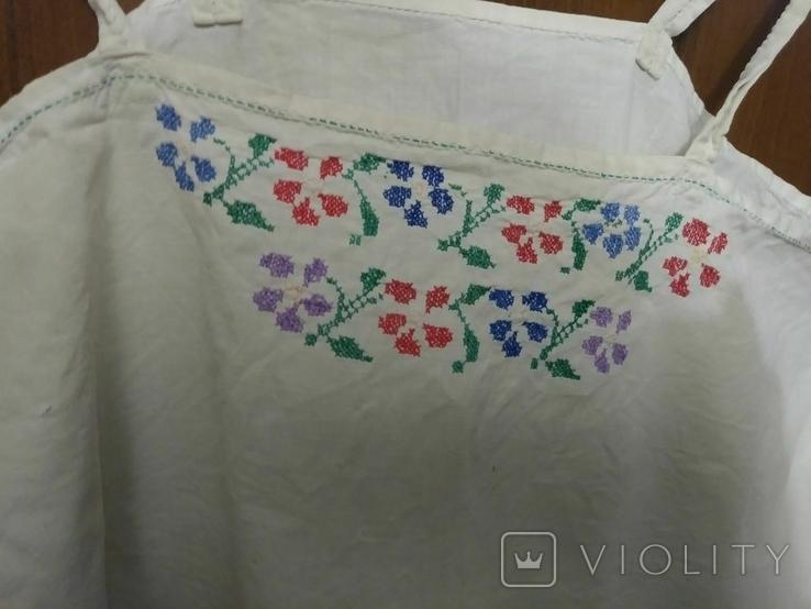 Сорочка старинная ручная работа, фото №3