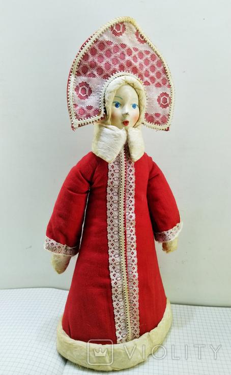 Снегурочка в кокошнике. СССР 1983 год, фото №2