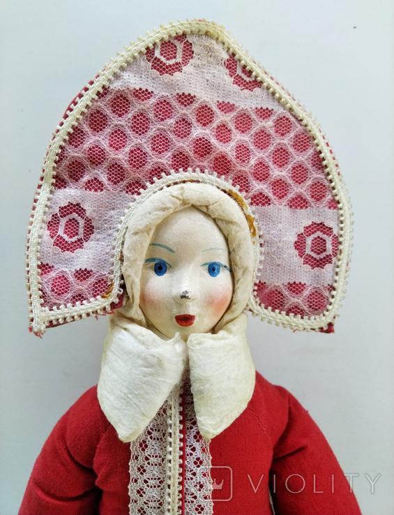 Снегурочка в кокошнике. СССР 1983 год, фото №3