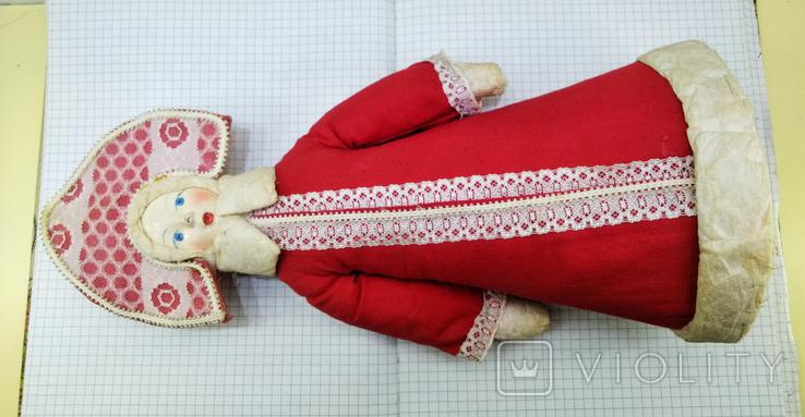 Снегурочка в кокошнике. СССР 1983 год, фото №5