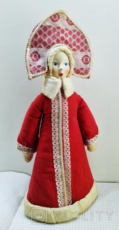 Снегурочка в кокошнике. СССР 1983 год, фото №6