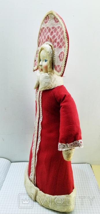 Снегурочка в кокошнике. СССР 1983 год, фото №10